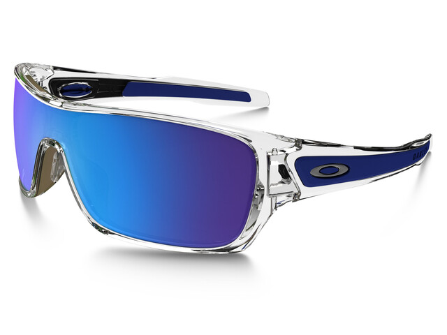 Oakley Turbine Rotor Sunglasses polished clear/sapphire iridium